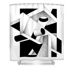 Decline And Fall 7 Shower Curtain