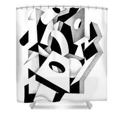 Decline And Fall 8 Shower Curtain