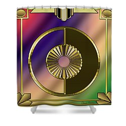 Shower Curtain featuring the digital art Deco 27 - Chuck Staley by Chuck Staley