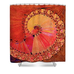 Deco Elemental Shower Curtain