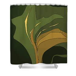 Deco Tile Shower Curtain