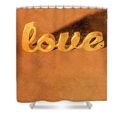 Shower Curtain featuring the photograph Decorating Love by Jorgo Photography - Wall Art Gallery