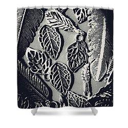 Decorative Nature Design  Shower Curtain