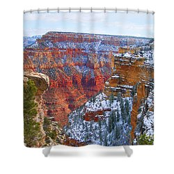 Shower Curtain featuring the photograph Deep And Wide by Roberta Byram