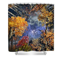 Deep Canopy Shower Curtain by Dave Martsolf