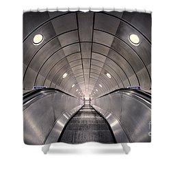 Deep Down Below Shower Curtain by Evelina Kremsdorf