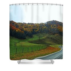 Deep Down Peaceful And Serene Shower Curtain