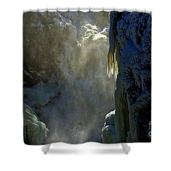 Deep Shower Curtain by Elfriede Fulda
