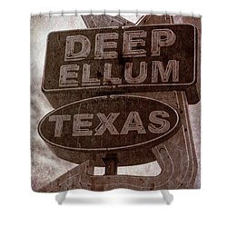 Deep Ellum Texas Shower Curtain by Jonathan Davison