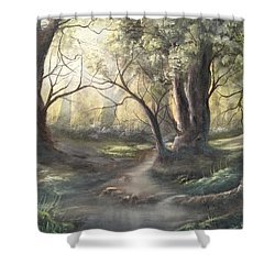 Deep Forest  Shower Curtain