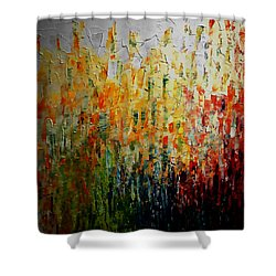 Deep Garden Shower Curtain