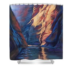 Deep In The Canyon Shower Curtain
