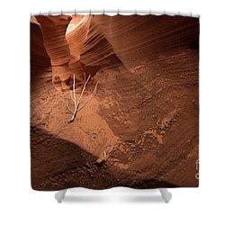 Deep Inside Antelope Canyon Shower Curtain