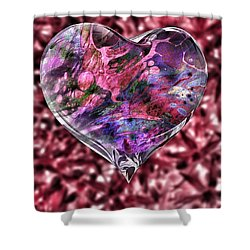 Deep Love Shower Curtain
