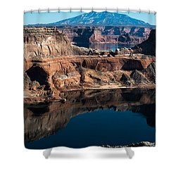 Deep Reflections In Lake Powell Shower Curtain