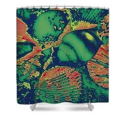Deep Sea Journey Shower Curtain by Rachel Hannah