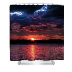 Deep Sky Shower Curtain