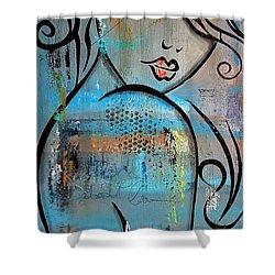 Deeper Love Shower Curtain by Tom Fedro - Fidostudio