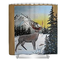 Deer Hunter's Dream Shower Curtain