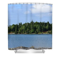 Deer Isle, Maine No. 5 Shower Curtain