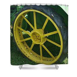 Deere Wheel I Love You Shower Curtain