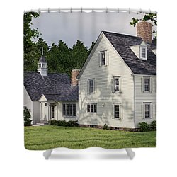 Deerfield Colonial House Shower Curtain