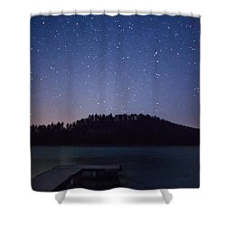 Deerfield Dock Shower Curtain