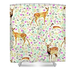 Deers Shower Curtain