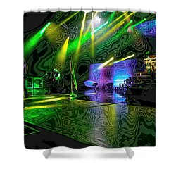 Def Leppard At Saratoga Springs 3 Shower Curtain