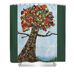 Default 1608.pdf Shower Curtain
