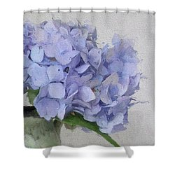 Degas Hydrangea Shower Curtain