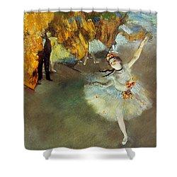 Degas: Star, 1876-77 Shower Curtain by Granger