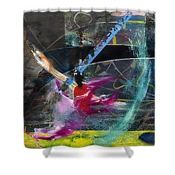 Degenerate Art Shower Curtain by Antonio Ortiz