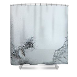 Degivrage Shower Curtain by Marc Philippe Joly