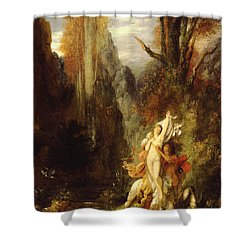 Dejanira  Autumn Shower Curtain