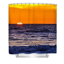 Del Mar Sunset, View 2 Shower Curtain