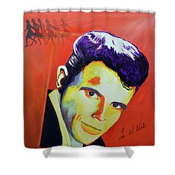 Del Shannon Shower Curtain