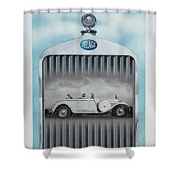 Delage #8712 Shower Curtain