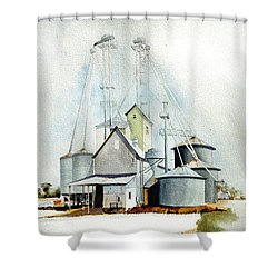 Delaware Grain Shower Curtain