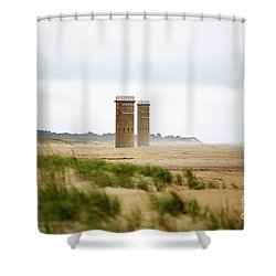 Delaware Towers Shower Curtain