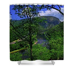 Delaware Water Gap Shower Curtain