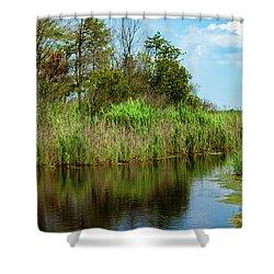 Delaware Waterway Shower Curtain