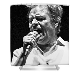 Delbert Mcclinton Sings The Blues Shower Curtain