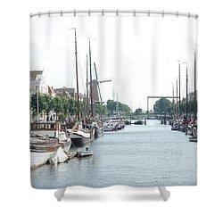 Delfshaven Shower Curtain