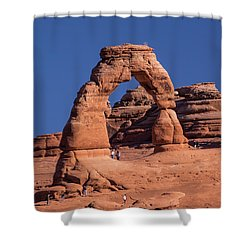 Delicate Arch - 8574 Shower Curtain