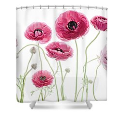 Delicate Arrangement Shower Curtain