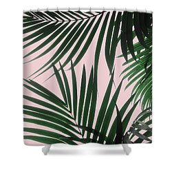 Delicate Jungle Theme Shower Curtain