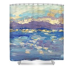 Delight Shower Curtain by NatikArt Creations