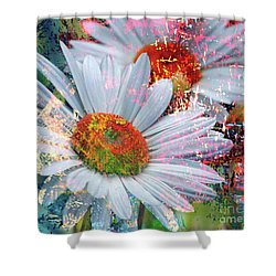 Delightful Daisies Shower Curtain