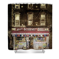 Delightful Shower Curtain by Russell Styles